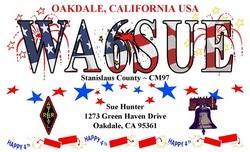 4th of July QSL