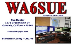 Hamshack Photo QSL