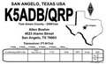 State Outline QRP QSL