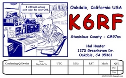 Wating for QSL