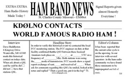Ham Band News QSLtoon