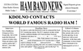 Ham Band News QSL