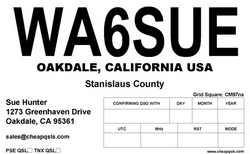 QSL Card Style 103