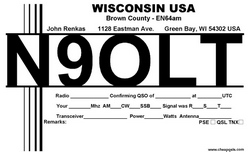 QSL Card Style 115